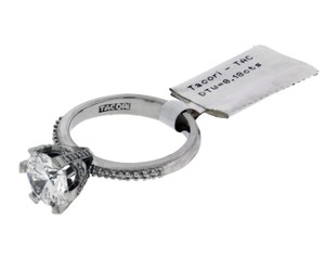 Tacori 2507 Rd Diamond Engagement Ring In Platinum Fits 2ct Diamond Size 65
