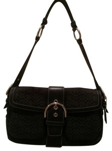 Coach 1463 Satchel Hobo Mini Signature Buckle Shoulder Bag