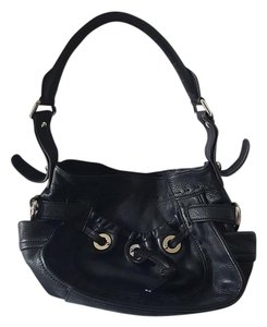 B. Makowsky B Leather Hobo Bag