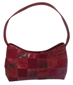 Robert Ference Patent Leather Cow Hide Shoulder Bag