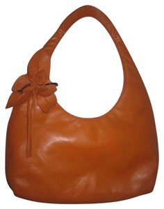 Paolo Masi Lots Of Pockets/Room Mint Condition New Without Tags Large Floral Accent Great Pop Of Color Hobo Bag