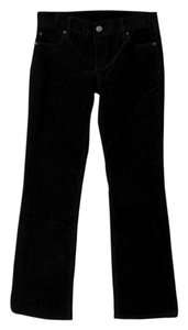 J.Crew Corduroy Favorite Fit Boot Cut Pants Black