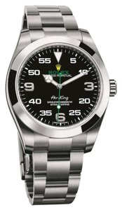 Rolex Rolex AirKing Steel Black Arabic Dial 40mm 116900
