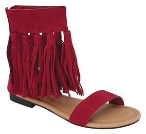 Other Red Sandals