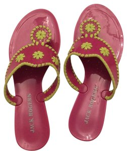 Jack Rogers Pink and green Sandals