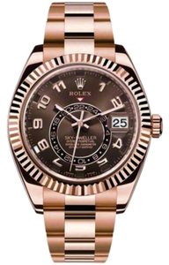 Rolex Rolex Sky-Dweller Rose Gold Chocolate Dial 42mm 326935 ch