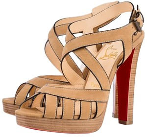 Christian Louboutin Beige Sandals
