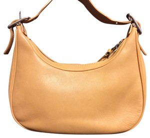 Coach Mini Vintage Leather Hobo Bag
