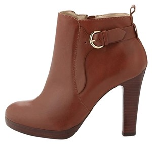 Neiman Marcus Leather cognac Boots