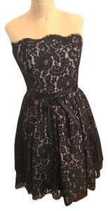 Robert Rodriguez short dress black & tan on Tradesy