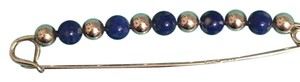 Tiffany & Co. Vintage Tiffany & Co. Sterling Silver and Sodalite Baby Diaper Pin