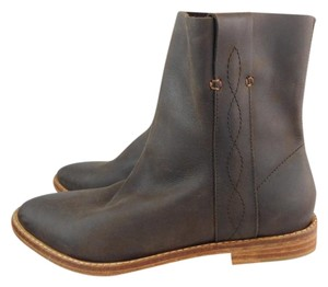 Joie Ankle Boot Western Bootie Brown Boots
