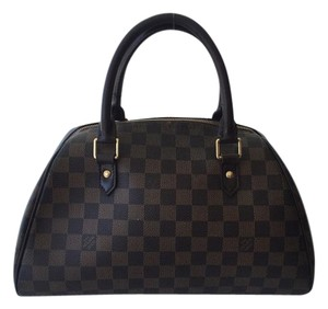 Louis Vuitton Ribera Mm Ribera Speedy Alma Satchel in Damier ebene