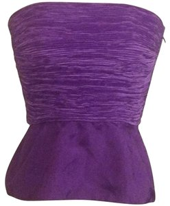 Mary McFadden Top Purple