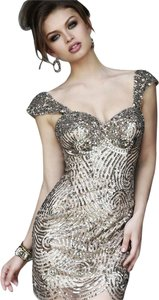 Sherri Hill Sequin Beaded Dress