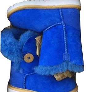 Kids Bailey Ugg's Blue Boots