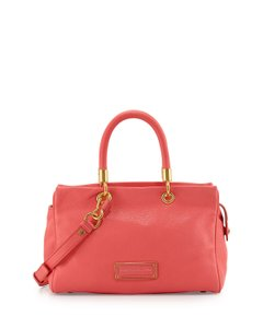 Marc by Marc Jacobs Too Hot To Handle Zip Satchel in Bright Coral