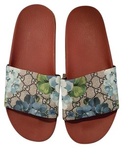 Gucci Red and grey Sandals