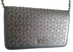 Chanel Wallet Chain Gold Silver Clutch