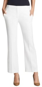 Theory Cropped Checklist Light Capri/Cropped Pants White