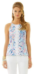 Lilly Pulitzer Annabelle Halter Top Multicolor