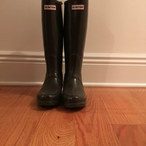 Hunter Rainboot Riderboot Brown Boots