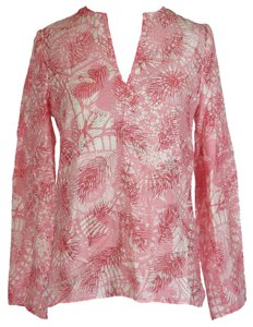 Tory Burch Textured Long Sleeve Tunic