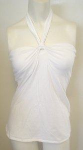 Victoria's Secret Summer Vs Mix Match White Halter Top