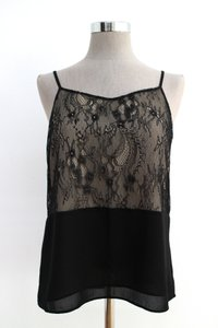 Ann Taylor LOFT Night Out Date Night Lace Top black