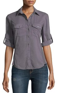 James Perse Button Down Shirt storm