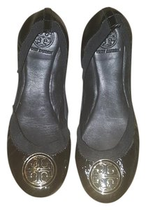 Tory Burch Espadrille Caroline Thora Black and gold Flats