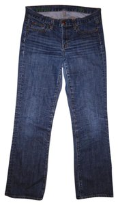 J.Crew Worn Low-rise Boot Cut Jeans-Distressed