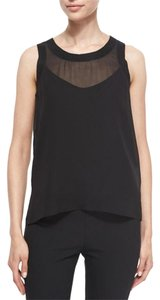 Rag & Bone Silk Top Black