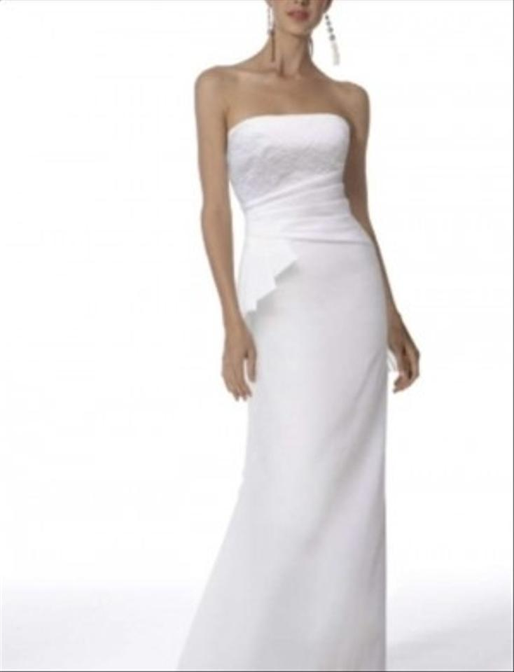 Jessica mcclintock 22191 stretch taffeta strapless bridal for Jessica mcclintock wedding dresses outlet