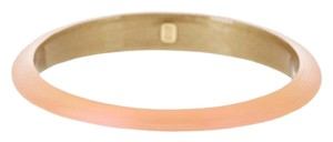 Alexis Bittar Peach Melon Lucite Tapered Bangle Bracelet