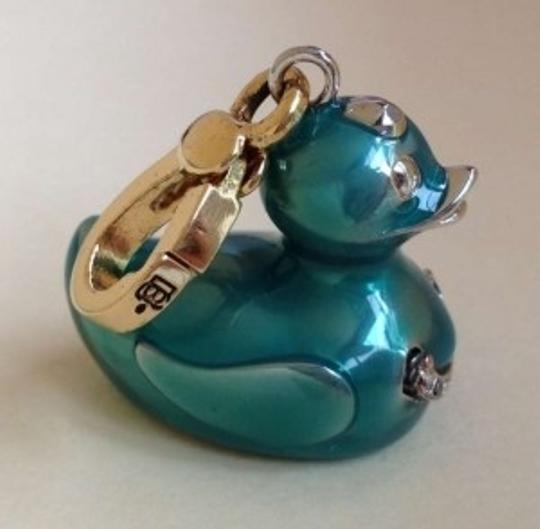Juicy Couture Blue Rubber Duckie Charm