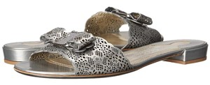 Salvatore Ferragamo silver Sandals