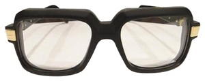 Cazal CAZAL 607 Eyeglasses Legend Matt Black Gold AUTHENTIC New