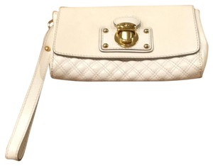 Marc Jacobs Wristlet in Cream