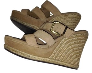 UGG Australia TAN Wedges