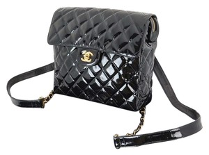 Chanel Vintage Patent Leather Backpack