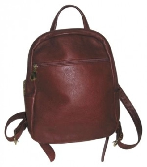 Preload https://item4.tradesy.com/images/backpack-styled-purse-cognac-leather-full-grained-pebbled-backpack-189438-0-0.jpg?width=440&height=440