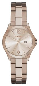 DKNY DKNY Women's Parsons Three Hand Stainless Steel Watch NY2368