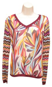 Missoni for Target Chevron Crochet Chiffon Sweater