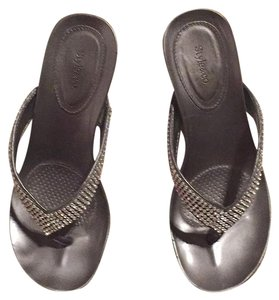 Style & Co Silver Wedges