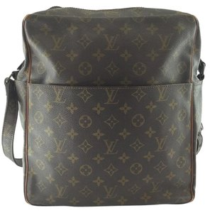 Louis Vuitton Vintage Cross Body Diaper Tote in Monogram