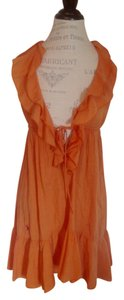 Ralph Lauren short dress Orange Logo Halter on Tradesy