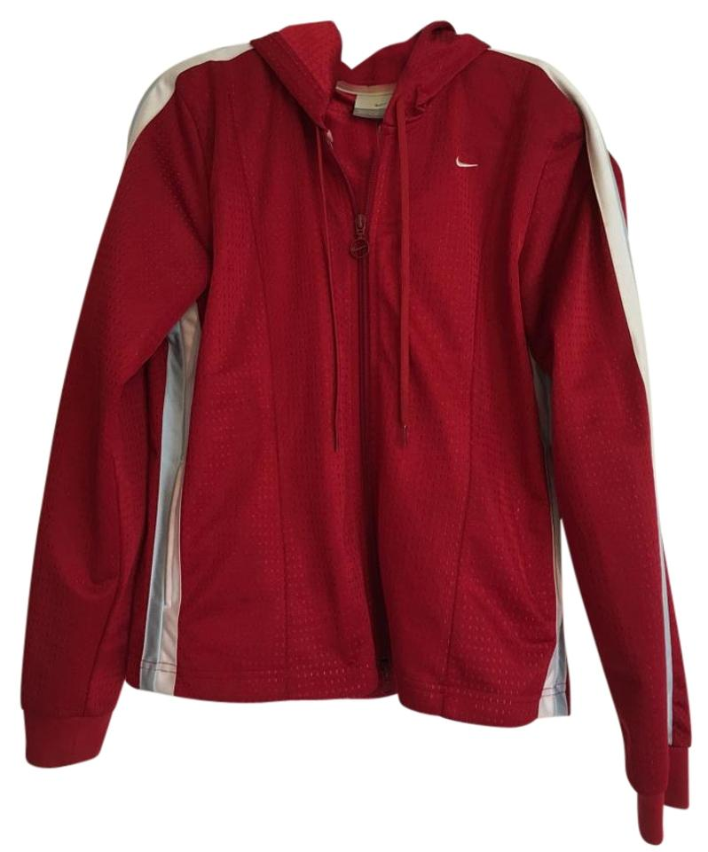 c2ac4a0754f8 Nike Red Running Jacket Activewear Size 8 (M) - Tradesy