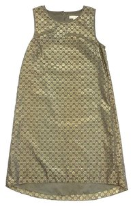 Erin Fetherston short dress Olive Gold Polka Dot on Tradesy