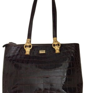 Gianfranco Ferre Tote in Brown